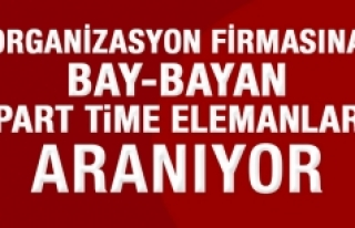 Bay-Bayan Part Time Elemanlar Aranıyor